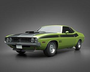 1971 Dodge Challenger TA model
