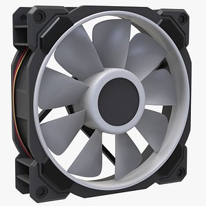 3D computer fan led