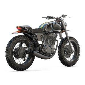Yamaha SR500 Custom Bike model