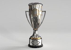 3D Champions League Trophy model