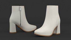 3D model heels women