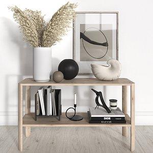 form refine shelves decorative 3D