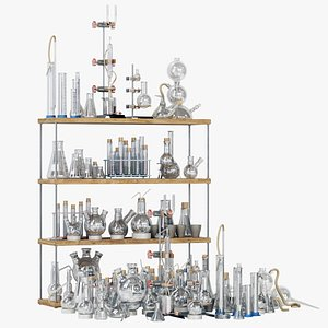 Chemistry dishes n3 3D model
