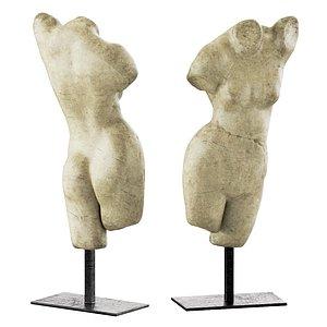 3D rh aphrodite sculpture model