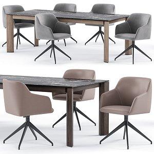 elle chair delta table model