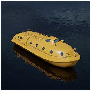 rescue boat model