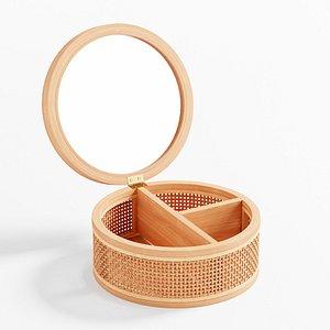 3D Melody Rattan Jewelry Box