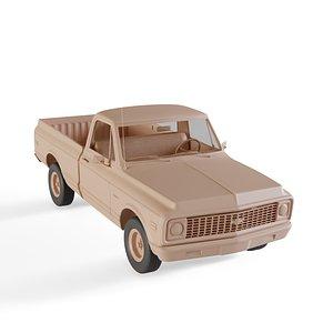 3D chevrolet c10 cheyenne pickup