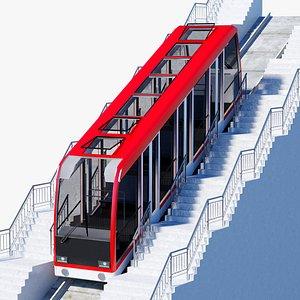 Funicular Railway Car