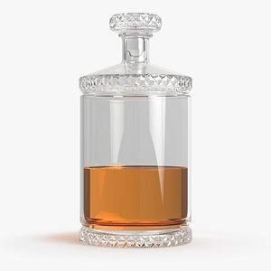 whiskey decanter 3D