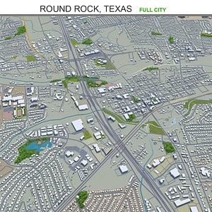 3D Round Rock Texas