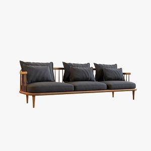 3D Fly Triple Sofa
