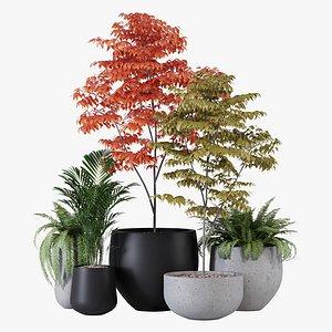 Pottery pots model
