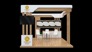 booth 3x3 3D