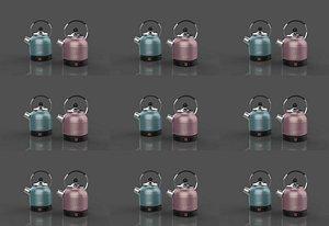 3D Electric kettle Hot kettle hot kettle hot kettle electric kettle Hot water bottle stainless steel ho model