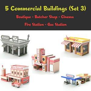 fivestore03 store 3D model