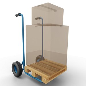 loadcart load cart 3D
