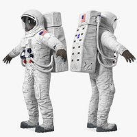 A7L Apollo and Skylab Spacesuit 3D Model