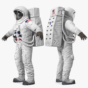 a7l apollo skylab spacesuit 3d model