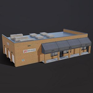3D American Style Warehouse