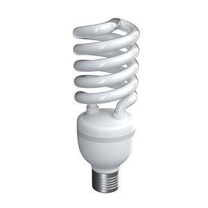 bulb saving energy 3D