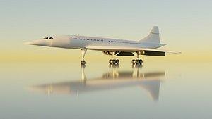 Aérospatiale BAC Concorde 3D