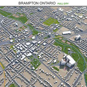 Brampton Ontario Canada 3D model