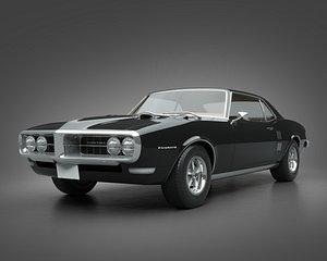 3D 1968 Pontiac Firebird