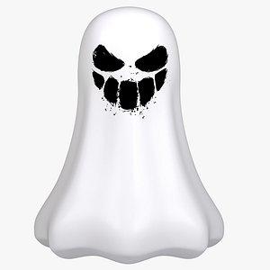 3D modeled ghost model