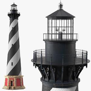 Cape Hatteras Lighthouse 3D model