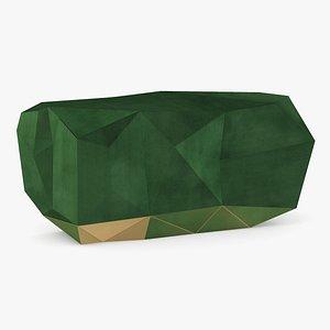 3D Boca Do Labo Diamond Emerald Sideboard model