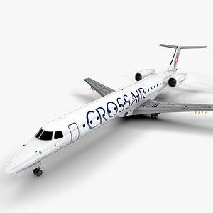 CROSSAIR  EMBRAER ERJ 145 L1360 3D