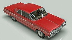 3D Chevy Impala 64s