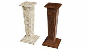 3D Pedestal