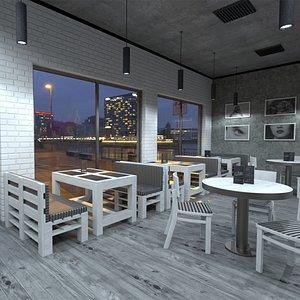 3D Coffee House model