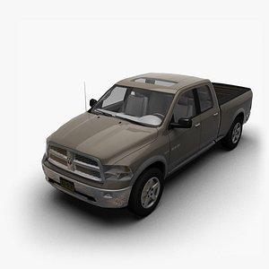 3D 2009 Dodge Ram QuadCab L