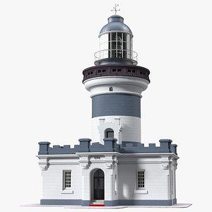 3D model Vintage Lighthouse