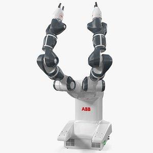 3D abb yumi irb 14000 model