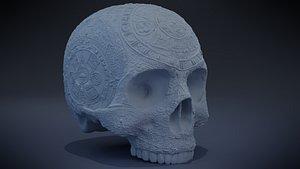 Aztec Skull version 2 model