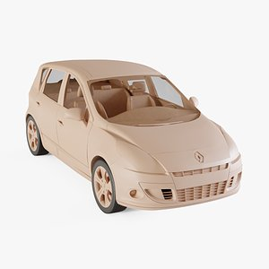 2010 Renault Scenic 3D