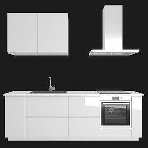 3D model voxtorp kitchen