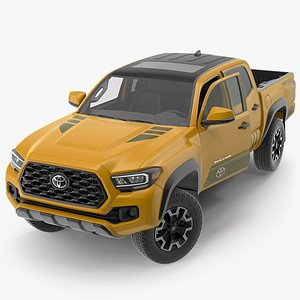3D toyota tacoma trd road model