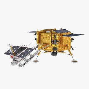 chang e-3 lunar 3D model