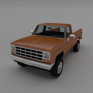 pick-up 1 3D model