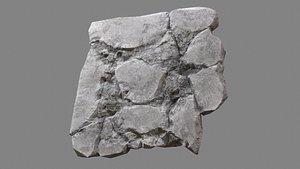 Concrete Debris 06 3D model