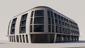 Oval Shape Residence 3D model