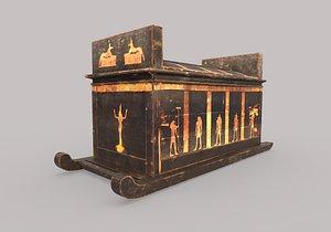sarcophagus yuya pbr 3D