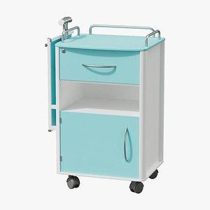 table hospital 3D