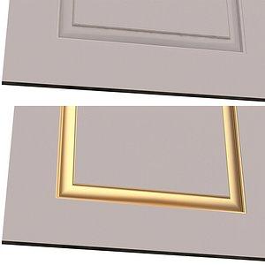 3D Wardrobe Door Classic 2