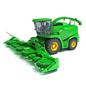 3D Combine Harvester V11 model